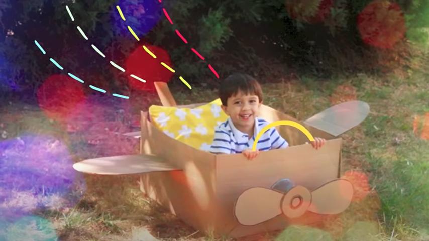 Built A Cardboard Box Airplane