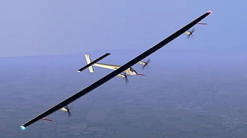Discover A Solar-Powered Plane