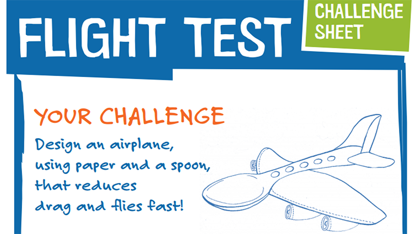 Take On A Design Squad Flight Challenge
